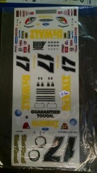Grafx 1/24 DeWalt #17 Kenseth - Product Image