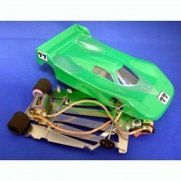 JK 1/24 Ready to Run Retro Porsche GT-1 w/retro motor Cheetah 21 chassis - Product Image