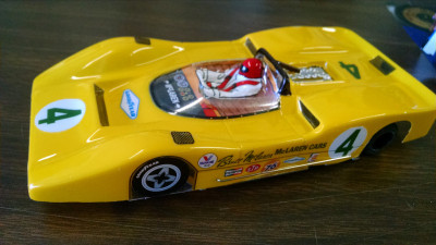 JK Cheetah 21Mclaren ready to run complete car Hawk 7 motor - Product Image